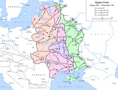 Ситуация на фронте с 22 июня по 5 декабря 1941 года